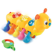 Whistle Caterpillar Infant Toy - 40867