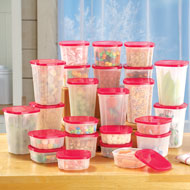 Rotating Food Storage Container System - 49PC