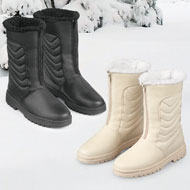 Zip Front Boot with Ice Grips - 40935