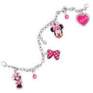 Minnie Mouse Disney Charm Bracelet