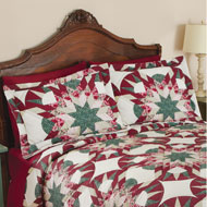 Aurora Star Patchwork Pillow Sham - 41291