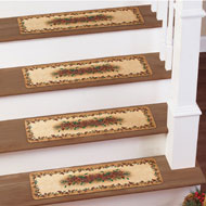 Pinecone Stair Treads Mat Set - 41303