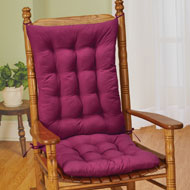 Quilted Rocking Chair Cushion Set - 41343