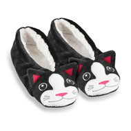 Womens Animal Ballet Slippers - 41363