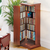Swing Away Media Cabinet CD & DVD for Storage