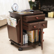 Wheeling Companion Storage Table - 41454