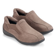 Microsuede Slip On Shoes for Women