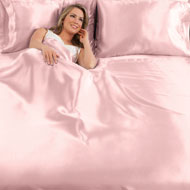 Elegant Satin Sheets Set w/ 2 Pillowcases - 41536