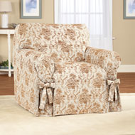 Chateau Floral Furniture Slip Cover with Ties - 41550