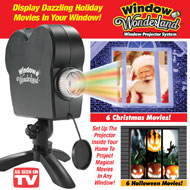 Star Shower Window Wonderland Projector - 41574
