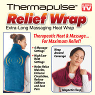 Thermapulse Relief Massaging Heat Wrap - 41591
