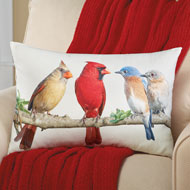 Birds on a Branch Decorative Accent Pillow - 41656
