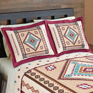 Diamond Aztec Southwest Bed Pillow Sham - 41665
