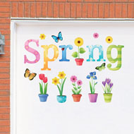 Spring Flower Outdoor Garage Door Magnets - 41683
