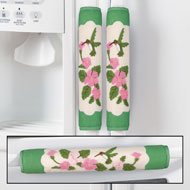Hummingbird & Flowers Appliance Handle Covers - 41708