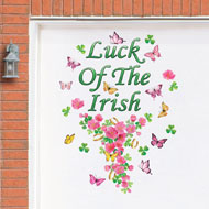 Luck of the Irish Garage Door Magnets Decoration - 41765