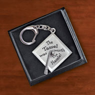 Graduation Cap Keepsake Key Chain - 41780