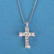 Cross Necklace or Earrings Jewelry - 41795