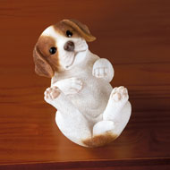 Playful Puppy Tabletop Figurine - 41843