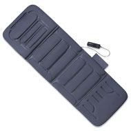 Plush Heated Massage Chair Pad with Remote - 41882