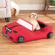 Race Car Pet Bed with Removable Cushion - 41886
