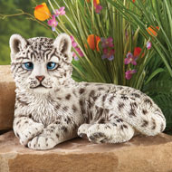 Snow Leopard Garden Statue Decoration - 41908