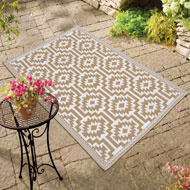 Reversible Southwest Aztec Patio Mat - 42112