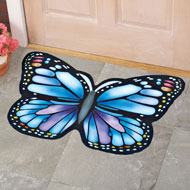 Butterfly Shaped Rubber Door Mat - 42130