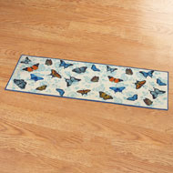 Butterfly Garden Skid-resistant Accent Rug - 42153