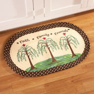 Inspirational Willow Braided Accent Rug - 42155