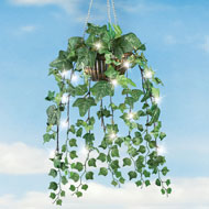 Artificial Ivy Hanging Plant with LED Lights - 42215