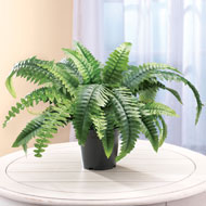 Faux Fern Artificial Potted Plant