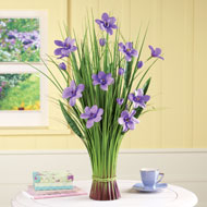 Decorative Floral Spring Grass Bunch - 42235