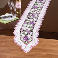 Rose Flower Garden Cut Out Table Linens - 42290
