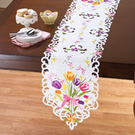 Beautiful Tulips Bouquet Table Linens - 42314