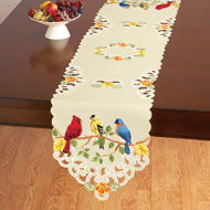 Beautiful Birds Spring Table Linens - 42337