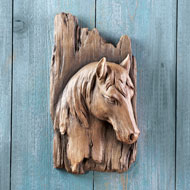 Rustic 3-Dimensional Horse Wall Art - 42382