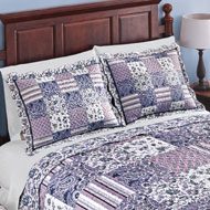 Christina Floral Patchwork Pillow Sham - 42398