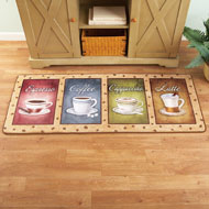 Coffee Cups Runner Rug - 42446