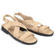 Elasticized Stretch Comfort Sandals - 42514
