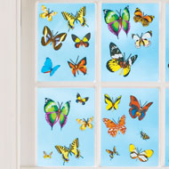 Butterfly Removable Window Decals, 60 ct. - 42561
