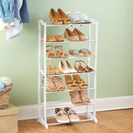 Vertical 7 Tier Shoe Rack Organizer - 42576