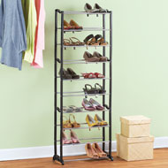 Tall 10 Tier Shoe Rack  Organizer - 42577