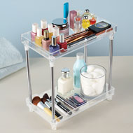 Acrylic 2-Tier Storage Shelf - 42578