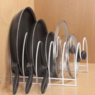 Skillet, Pans and Lids Organizer Rack - 42581