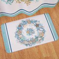 Seashell Foam Bath Mat - 42589
