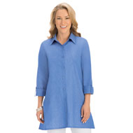 A-Line Button Down Tunic - 42614