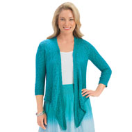 Open Front Cascade Cardigan - 42656