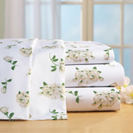 Magnolia Blossom Microfiber Bed Sheet Set - 42674