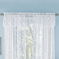 Songbird Lace Window Valance